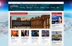 Beautiful PSD web template