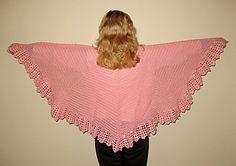 Free Crochet Prayer Shawl Patterns   Free Crochet Pattern - Decorative Edge Shawl from the Shawls Free ...