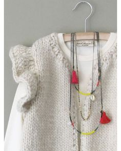 April Showers (cool hand knit sweater inspiration)