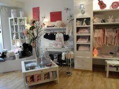 Les Doudous de Justine boutique, Marseille, France. Shop interior.