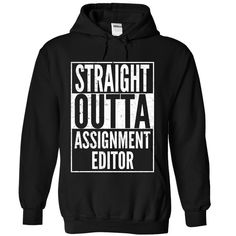 Assignment Editor T Shirts, Hoodies. Check price ==► https://www.sunfrog.com/LifeStyle/Assignment-Editor-9675-Black-Hoodie.html?41382 $39.99