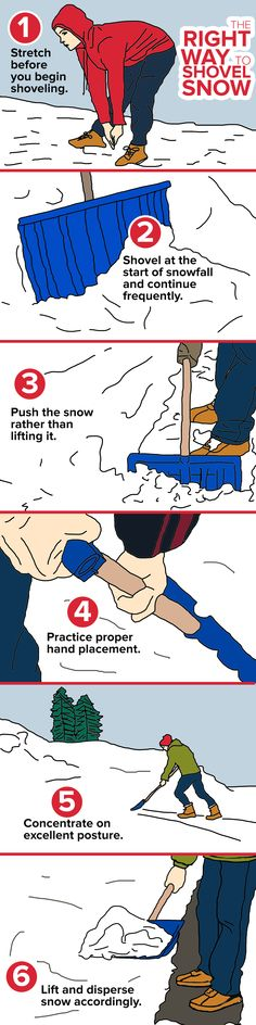 Ready for the snow? Here's how to prevent injury while shoveling Reduce the risk of injury with these simple steps. Health And Beauty Tips, Health And Wellness, Shoveling Snow, Safety Posters, Chiropractic Wellness, Living A Healthy Life, Healthy Women, The More You Know, Day Work