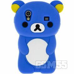 Coque nounours pour téléphone Samsung Galaxy Ace coloris bleu 12.90€ http://www.gsm55.com/coque/samsung/samsung-s5830-galaxy-ace/housse-coque-silicone-design-nounours-bleu-back-bear-marin-s5830.html #case