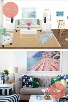 The experience of hiring an interior decorator at a fraction of the cost. In four easy steps, we'll transform your space into the home you've always dreamed about.