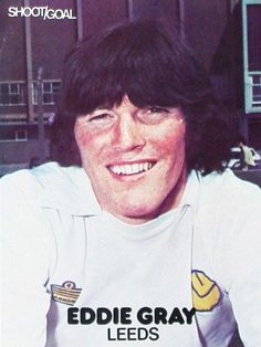 Eddie Gray Leeds United 1975 Leeds United, The Unit, Football, T Shirts For Women, Grey, Tops, Fashion, Soccer, Gray