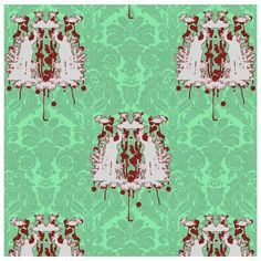 'Bloofy Hell' toile by Timorous Beasties