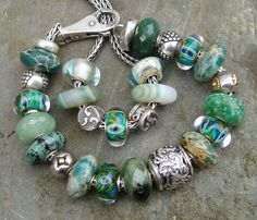 Stunning Trollbeads Stones! That's why we all love Trollbeads!