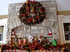 Christmas Holiday Mantel Decorating by Serendipity Refined