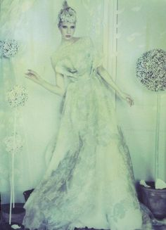 ELIE SAAB Haute Couture Spring 2012 gown for the Spring issue of Book Moda Haute Couture.