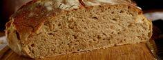 Domáci kváskový pšenično-ražný chlieb