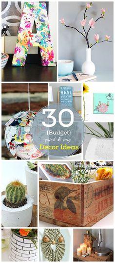 30 DIY Home Decor Ideas on a Budget   Click for Tutorial   Easy and Creative Decor Ideas   CraftRiver DIY Home Decor #diy