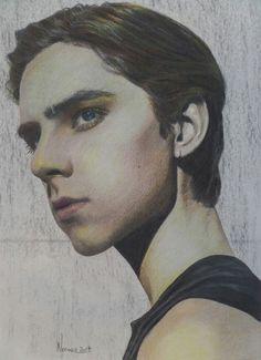Mikko Puttonen | heat | portraiture | colorpencil