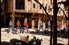 This is what happens when you put Andy Warhol in Syria. The Ayyam Gallery in Lebanon shows the fresh scars of Syria's war through the eyes of Syrian artist Tammam Azzam. His artworks have already gone global with his Syrian Museum compositions depicting classic art merged with images of today's violent dismantling of Syria.