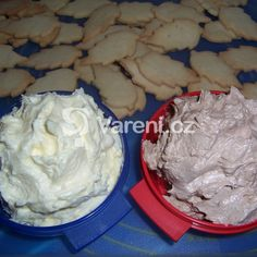 Christmas Sweets, Christmas Baking, Czech Desserts, Czech Recipes, Holiday Cookies, Desert Recipes, Holiday Recipes, Nutella, Icing