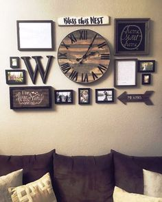 The style of rustic living room wall decor is indeed very attractive and ruin th.The style of rustic living room wall decor is indeed very attractive and ruin th.Home Wall Ideas Handmade Home Decor, Cheap Home Decor, Diy Home Decor, Home Wall Decor, Decor For Walls, Yellow Wall Decor, Cheap Wall Decor, Rustic Walls, Rustic Wall Decor