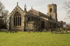 St Peter church Upwell, Norfolk Great Britain,
