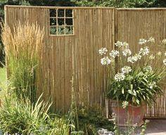 Form und Farbton des Bambusrohrs fügen sich nahtlos in den Garten ein. Wer den asiatischen Charakter unterstreichen möchte, kombiniert den Zaun mit...