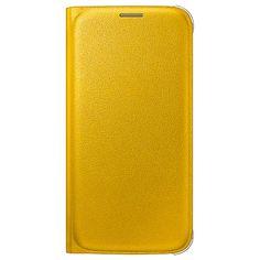 Samsung Galaxy S6 Lommebok Veske WG920PY- Gul