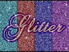 Make Glitter Backgrounds, Patterns and Glitter Text Effects in Photoshop - YouTube