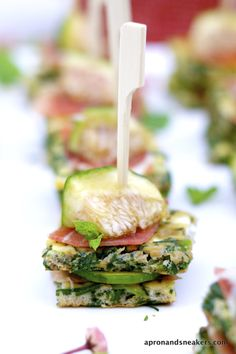 Apron and Sneakers - Cooking & Traveling in Italy: Agretti Frittata with Prosciutto & Fig Nibbles