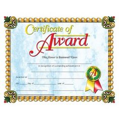 CERTIFICATES OF AWARD X 11 INKJET LASER. Our Diplomas, Certificates and Awards are x in size with beautiful, authentic designs printed in full color on high quality paper. Order now so you won't be disappointed later. Certificate Design, Certificate Programs, Certificate Templates, Bee Certificate, Free Printable Certificates, Award Certificates, Accelerated Nursing Programs, Preschool Graduation, Best Templates