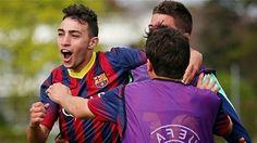 Los mejores goles de Munir con la cantera del Barcelona