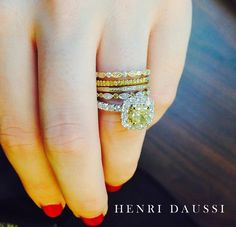 Canary Diamond Ring Brinkers Evansville IN Pretty Things