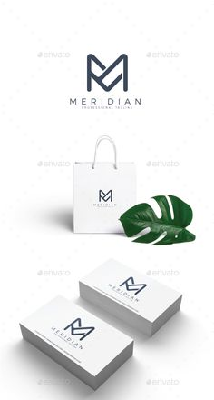Letter M - Meridian Logo