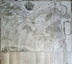 Corografia del Ducato di Ferrara, Ambrogio Baruffaldi 1800
