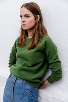 """Polder + April Showers """"verde hoja"""" todo este look soy yo en 1999"""