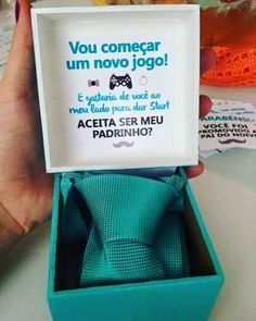 The creativity to invite the godparents ta having 👏💙 # EscolémosCasar … - Everything About WEDDiNG Geek Wedding, Diy Wedding, Dream Wedding, Wedding Day, Bridal Games, Marry You, Maid Of Honor, Wedding Details, Wedding Planning