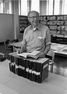 Harold Edgerton and his laboratory notebooks