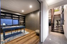 Architecture, Inspiring House Design Iwth Wooden Staircase And Antique Table Also Laminated Wooden Floor And Glass Windows: Luxury Living Ho...