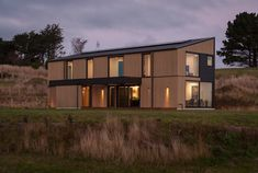 Team Green Architects | Dunedin | Dunedin Passive House Energy Efficiency, Passive House Design, Architect House, Sustainable Architecture, New Builds, Beautiful Space, Architects, Facades