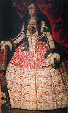 Maria Luisa Orleans by Juan Carreño de Miranda