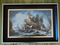 Invierno el los Apeninos, 40/35 cm, 35 colores