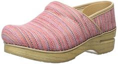 Dansko Women's Canvas Pro Red Textured Mule: The Professional, our iconic clog, delivers unbeatable comfort and all-day support Women's Mules & Clogs, Heeled Mules, Professional Shoes, Nursing Shoes, Dansko Shoes, Leather Clogs, Shoe Storage, Comfortable Shoes, Heels