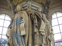 cartuja de champmol esculturas | La escultura gótica en Francia | HISTORIA DEL ARTE