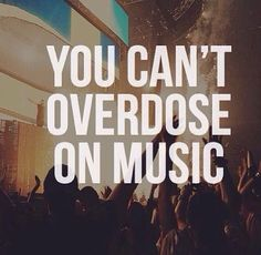 Music can be good medicine. Go home, listen to some good music and call me in the morning.