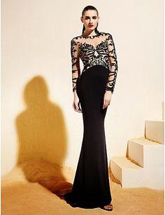 Vestidos de Fiesta Baratos: Vestido Sirena de Diseño