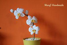 Ravelry: Crochet Orchid pattern by MaryJ Handmade Free Pattern