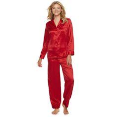Apt. 9 Women s Satin Top   Pants Pajama Set e4c514ec6