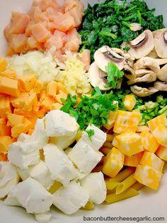 Bacon, Butter, Cheese & Garlic: Dip Meets Dinner