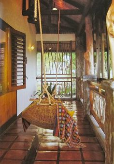 The hammock in common area