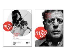 Markham Symphony Orchestra by Ronan Tiongson, via Behance