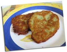 Polish pancakes with potatoes «Cookismo Easy Healthy Recipes, Easy Meals, Brownie Cookies, Tapas, French Toast, Pork, Food And Drink, Nutrition, Meat