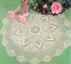 World crochet: Tablecloth 216