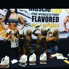 """This weekend Saturday October 22nd  you can find MuscleEgg at:  NPC BADGER STATE  NPC NEW YORK STATE GRAND PRIX  NPC PARADISE COAST CHAMPIONSHIPS  NPC BALTIMORE CLASSIC CHAMPIONSHIPS  NPC DAYANA CADEAU CLASSIC  NORTHERN STATES NATURAL CLASSIC  Stop by to try our amazing egg whites and say hi to the team! As always we'll have some """"show-only"""" specials that you can take advantage of.  See you there!  #showtime #samples #Foodie #Healthy #Foodlove #muscleegg #teammuscleegg #npc #bodybuilding…"""