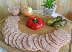 Klobásová zmes v tlačenkovém obale recept - TopRecepty.cz Korn, Sausage, Meat, Ali, Sausages, Ant, Chinese Sausage