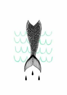 Design quotes wallpaper you are 20 super ideas Unicorns And Mermaids, Real Mermaids, Mermaid Wallpapers, Cute Wallpapers, Illustrations, Illustration Art, Mermaid Illustration, Pattern Texture, Mermaid Tale